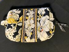 Awesome Vera Bradley Small Lined Cosmetic Bag - Retired Dogwood Pattern