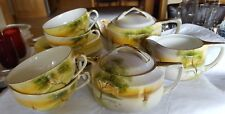 Noritake Sailboat and Tree Tea Set
