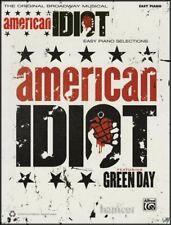 Green Day American Idiot The Broadway Musical Easy Piano Sheet Music Book