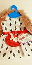 A Day in the Life as My 18� Doll dress Vest & purse Set fits American Girl