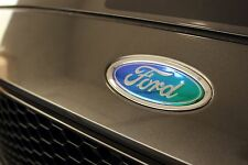15-16 Ford Focus ST NEO CHROME Emblem Overlays Tint Vinyl Film Precut Front/Rear