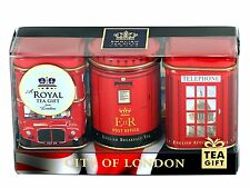 "English Teas, ""Mini Caddy Gift Set- City of London"", Traditional English Teas in"