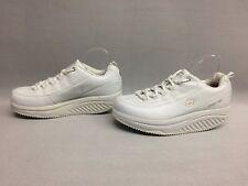 Skechers 76428 Womens Shape Up Slip Resistant Work Shoe White, Size 9 US