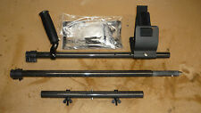 """Plugger Carbon Fiber 18"""" Dive Shaft for Minelab Excalibur with Beach Extension"""