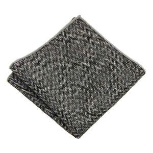 Men Plain Wool Cotton Pocket Square Wedding Party Soft Handkerchief Hanky NEW