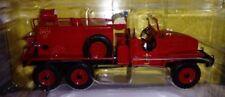 GMC CISTERN TRUCK CCKW 353. AVEIRO FIREFIGHTERS, 1:43 SCALE MAGAZINE PART WORK