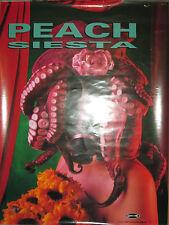 "Peach - ""Siesta"", Caroline promotional poster, 1994, 18x24, Vg+, alternative"