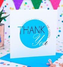 Lovely Personalised Handmade Thank You Teacher Card