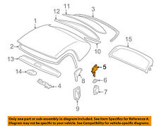 BMW OEM 00-03 Z8 Removable Top-Lock Right 54218269700