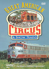 Great American Circus & Show Trains DVD Pentrex Baraboo carnival vintage NEW