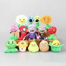 14pcs Plants vs Zombies Plush Toys Soft Stuffed Dolls Cuddly Game Kids Gift Set