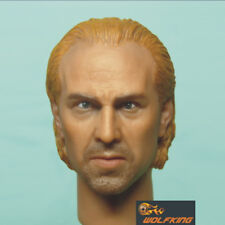 "WK003 1/6 Scale WOLFKING Nicolas Cage Head Sculpt for 12"" Action Figure"