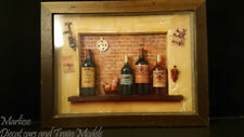 "Framed Wine Theme Shadow Box 15.5""  11.25"""