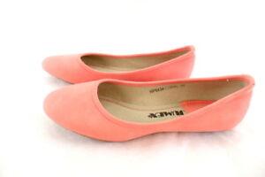 Ballerinas Lachs Coralle  Damenschuhe 39 Slipper Kayla