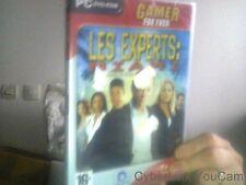 Jeu PC  cd rom Les experts Miami