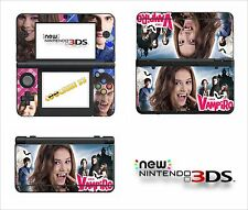 SKIN STICKER AUTOCOLLANT - NINTENDO NEW 3DS - REF 202 CHICA VAMPIRO