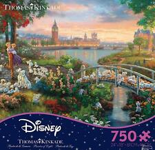 THOMAS KINKADE DISNEY DREAMS PUZZLE 101 DALMATIANS 750 PCS #2903-18