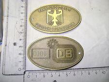 Id badge Criminal Investigations Train Division Deutsch Bahn Db