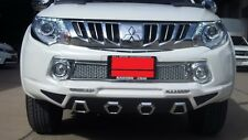 FRONT CLADDING + DRL PAINTED FOR MITSUBISHI TRITON 2014 - 2016