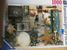 RAVENSBURGER 1000 pc Maritime Souviniers Jigsaw Puzzle Interesting