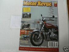 MOTOR REVUE 2006-03 POSTER VAN VEEN OCR 1000,KAWA Z900 A4,TERROT,DKW,TRIUMPH ROC