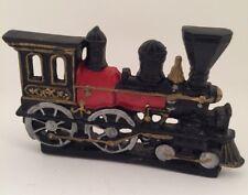 Vintage Cast Iron Train Locomotive Door Stop Heavy Train Home Decor 10x6 Kids