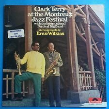 Clark Terry-At The Montreux Jazz Festival-'70 Polydor W/L PROMO-VG++/M- UNPLAYED