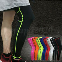 Sports Leg Calf Support Knee padding Stretch Sleeve Compression Socks Run Goods