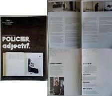 POLICIER,ADJECTIF - C.Porumboiu - DOSSIER DE PRESSE/CANNES PRESSBOOK (français)