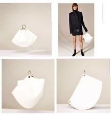 ZARA MINI STUDIO LEATHER BUCKET BAG WITH HOOPS REF. 8029 NWT- 199$!!!