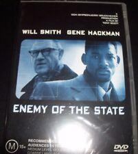Enemy Of The State (Will Smith Gene Hackman) (Australia Reg 4) DVD – New