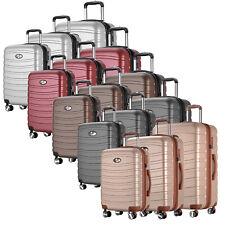 REISEKOFFER TSA TROLLEY TSA SCHLOSS KOFFER ABS HARTSCHALEN M / L / XL / SET