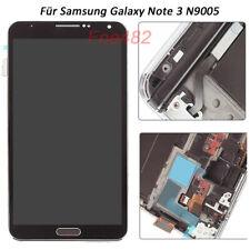 RETINA Für Samsung Galaxy Note 3 N9005 LCD Display Touch Screen Rahmen Black NEU