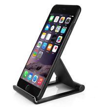 Visualización Plegable de Aluminio Ajustable Portátil Negro Teléfono Móvil Soporte de sobremesa