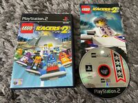 LEGO RACERS 2 Sony Playstation 2 Game PS2 Rare Boxed