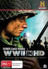 WWII Lost Films - WWII In HD (DVD, 2010, 3-Disc Set)