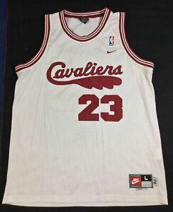 Vintage Cleveland Cavaliers LeBron James #23 Basketball NBA Nike Jersey SizeL