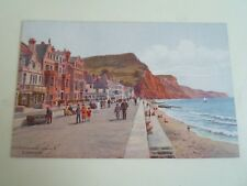 A R QUINTON Postcard 3092 The Esplanade Looking E. Sidmouth  Unposted  §A2325