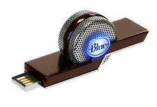 Blue TIKI Noise Canceling Laptop USB Microphone for Skype and Recording