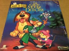 Great Mouse Detective CAV  Laserdisc 1360AS 1986  Fullscreen Disney BRAND NEW