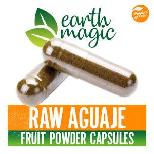100% RAW AGUAJE CAPSULES Raw fruit powder / phytoestrogen / Vegan capsules