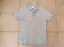 UNIQLO x MB    Slim Polo Top  L/Grey    Size L