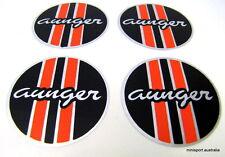 Aunger (ROUND) mag wheel centre cap sticker *set of 4* 45mm