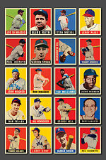 1948-49 Leaf  Baseball Complete Set Reprint Mint (98 cards) Packaged in an Album