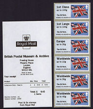 BPMA -  FLAGS HYTECH Post & Go JUNE 2013 A6GB13 6x COLLECTORS STRIP
