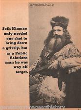 The Man With A Sunday Shot+Beckwourth,Black,Bridger,Buchanan,Carson,Custer