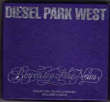 Diesel Park West - Boy On Top Of The News - Deleted UK 4 track CD box set
