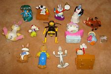 x15 pc TOY LOT Figurine DISNEY Pokemon Winnie The Pooh Hello Kitty Aladdin Bugs