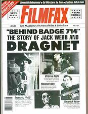 WoW! FILMFAX #40 Dragnet! Robert Bloch! Laurel & Hardy co-star Anita Garvin!