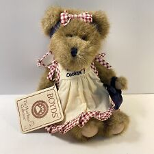 """Boyds Bears Lil' Miss Muffin 903046 Oven Mitt What's Cookin'? Retired 8"""" W/Tag"""